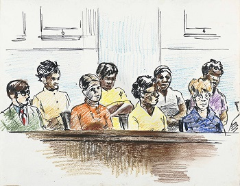 Drawing of Jurors
